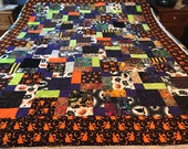 Halloween Quilt Top Ready To Finish