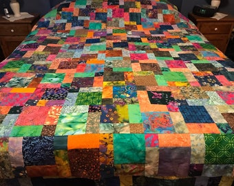 Homemade Quilts For Sale >> Homemade Quilts Queen Etsy