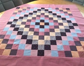 Pink Patchwork Table Topper