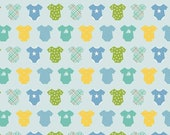 Riley Blake Sweet Baby Boy Quilt Fabric, Blue