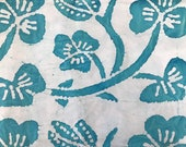 By The Yard, Blue Quilters Batik Fabric, Batik Quilting Fabric