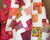 Lap Size Kaffe Fassett Unfinished Quilt Top