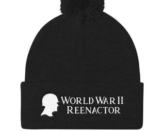 02899bf4ded Reenactor Knit Cap - World War II Reenactor - Historical Reenactment -  Living History