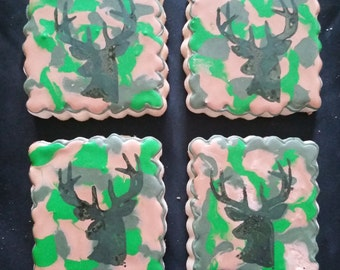 3fd446085a Camo and Deer Hunting Cookies!