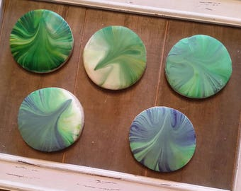 Marble Cookies - Any Color Combination - One Dozen