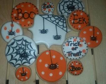 Web and Polka Dot - Halloween cookies