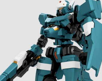 PREORDER  DL-01A Saber Lupine Painted and Assembled version And DL-01B Kit Version April 2019 initial release