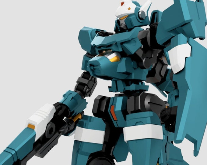 Featured listing image: PREORDER  DL-01A Saber Lupine Painted and Assembled version And DL-01B Kit Version April 2019 initial release
