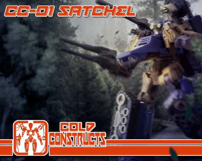 Featured listing image: PRE-ORDER : Cold Construct's CC-01 Satchel to be released 2019