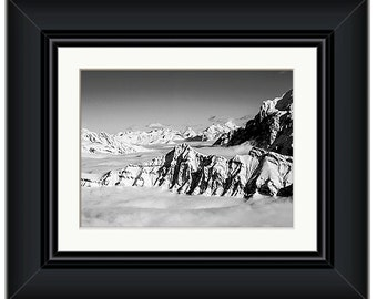 Swiss Alps Framed Print