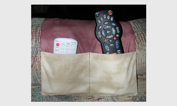 Remote Control Arm Chair Caddy Cell Phone Gadget Glasses Etsy