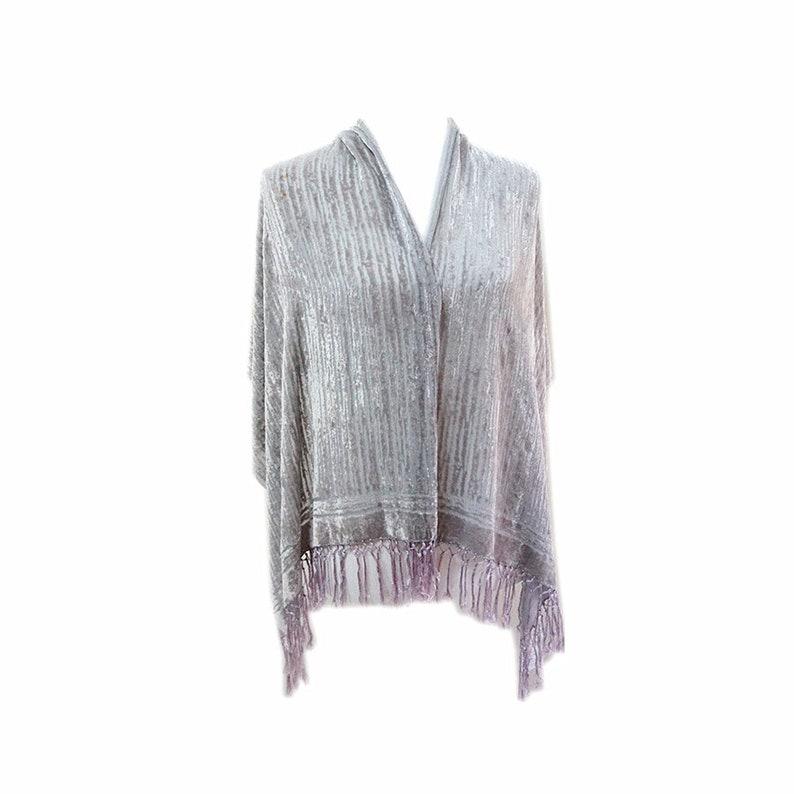 3f2d414d9 Designer classic Silk Velvet large size tassels evening wrap | Etsy