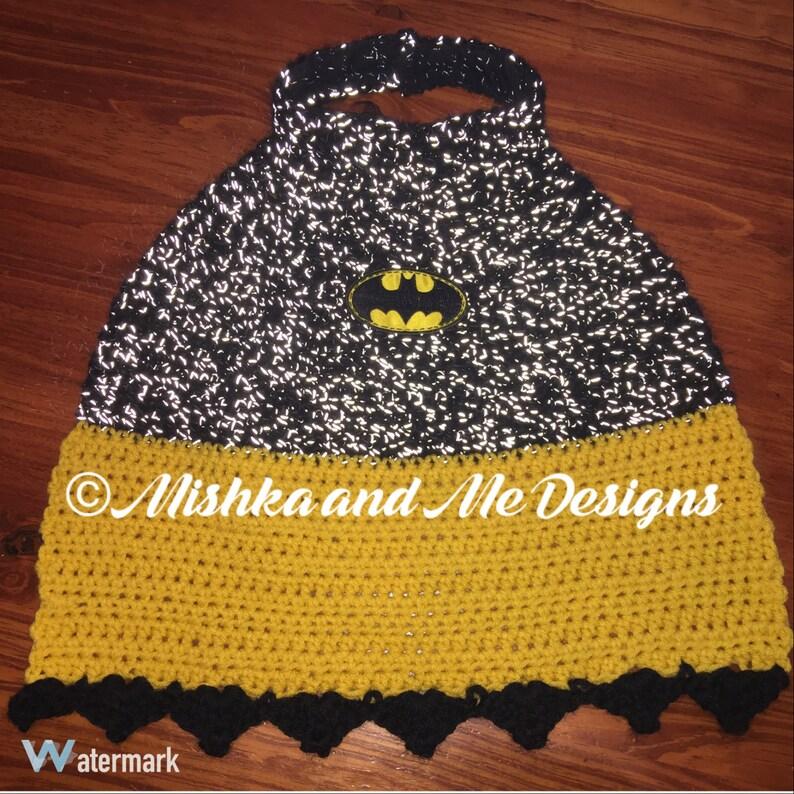 crochet superhero cape pattern