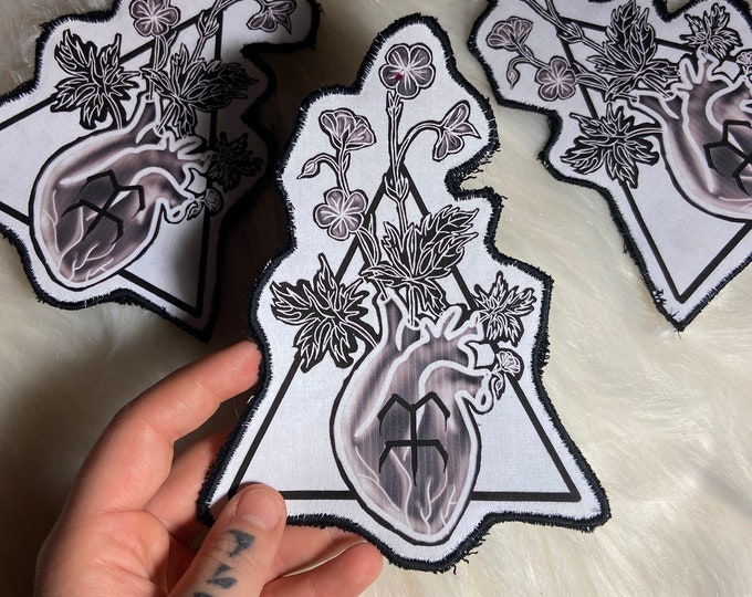 Featured listing image: Rebirth cloth sew on patch