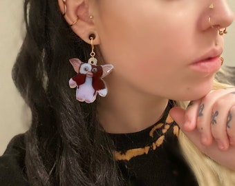 Gizmo earrings from Gremlins