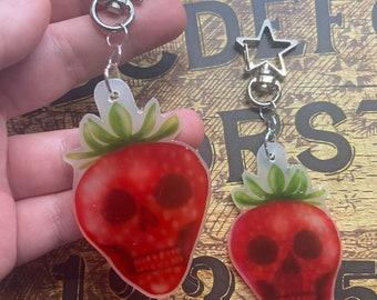 Skullberry keychain