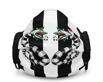 Sandworm beetlejuice face mask