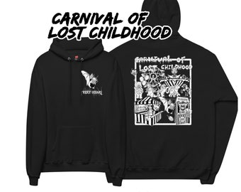 Carnival of lost childhood pull over hoodie, gothic horror