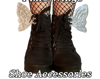 Pixie fairy shoe accessories