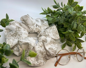 Cottagecore up-cycled XL Scrunchie