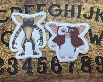 Gizmo & Gremlin sew on patches pack , comes with two patches