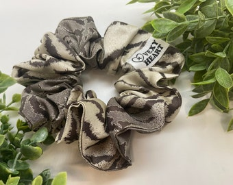Tiger Queen up-cycled XL Scrunchie