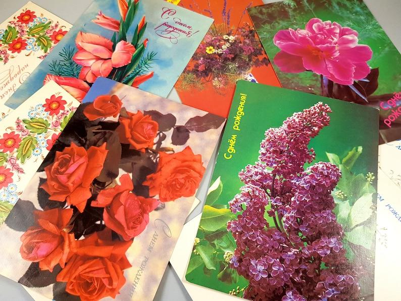 Set of 10 Happy Birthday Greeting Cards Birthday Cards