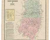 New London and Penn, PA W...