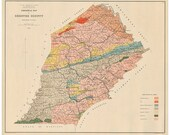 Geological Map of Chester...