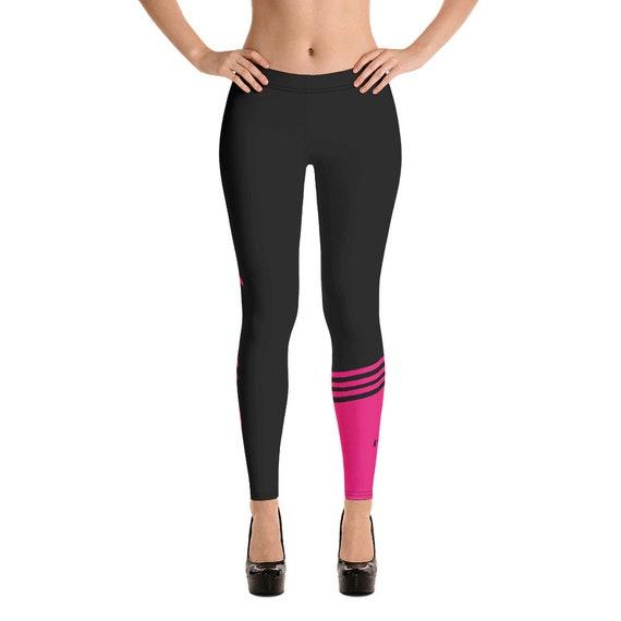 low cost innovative design buying now Sport leggings, Pink Gym Leggings, Fitness Leggings, Workout Leggings, Yoga  Pants, Yoga Leggings