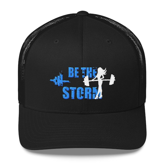f00dd63b8 Women's Trucker Hat Be the Storm Gym Lifting Fitness Crossfit Snapback  Workout Hats for Women