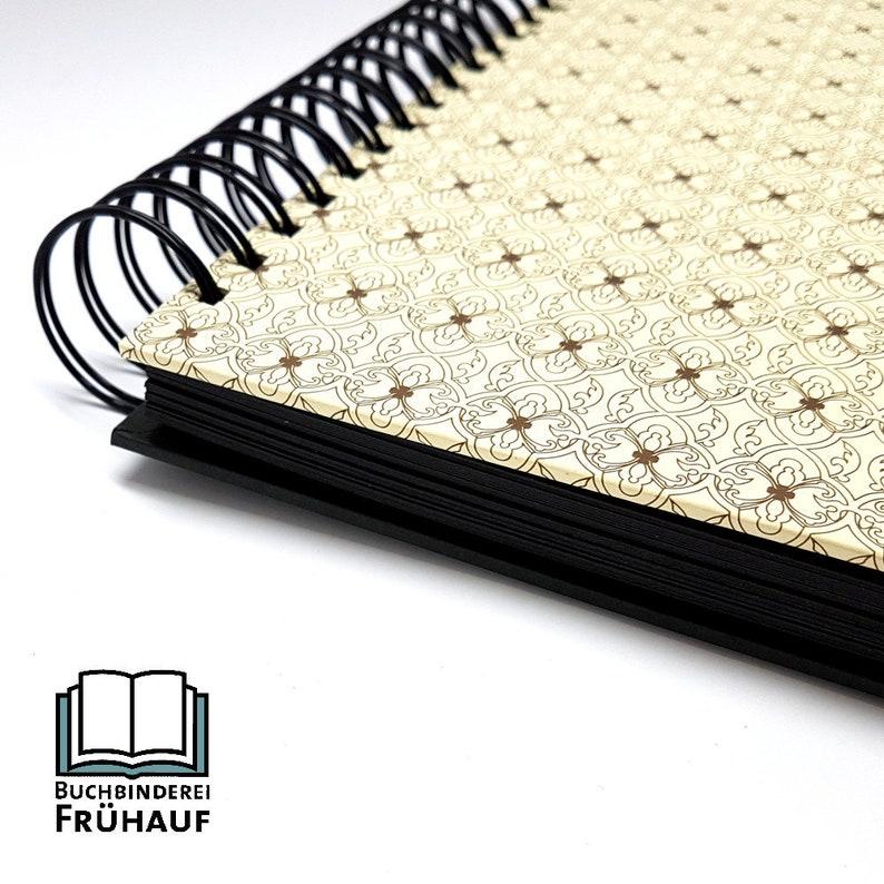 Guest book Photo album wire binding