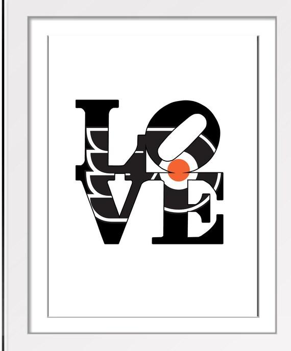 Philadelphia Flyers Hockey NHL Love Park Sign Symbol Sculpture Etsy