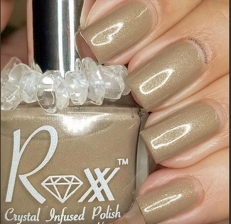 Sunstone Crystal Infused Nail Polish-Feel The Vitality. image 0
