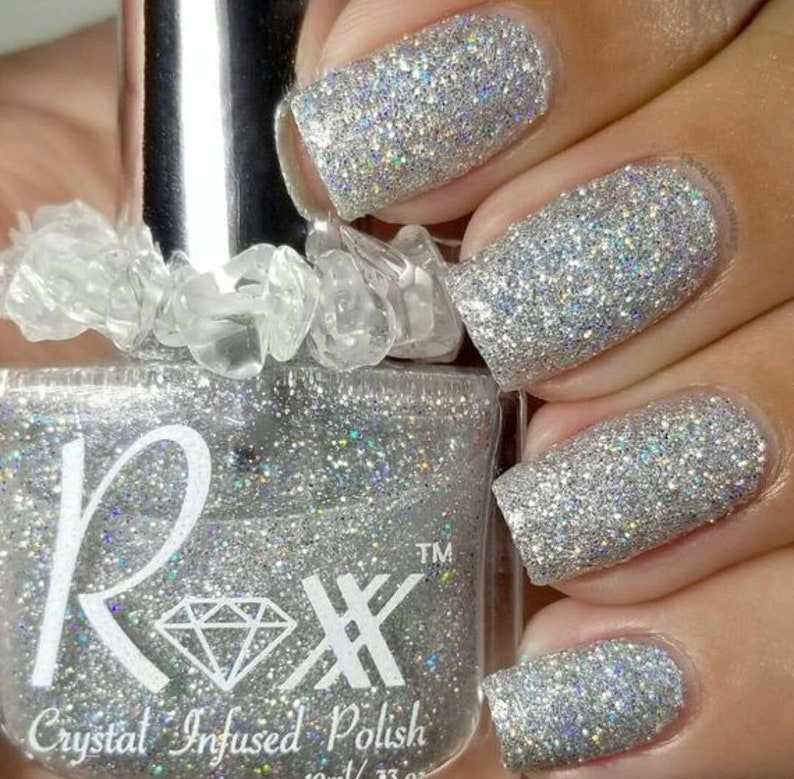 Opalite Crystal Infused Nail Polish Gotta Have Hope. image 0