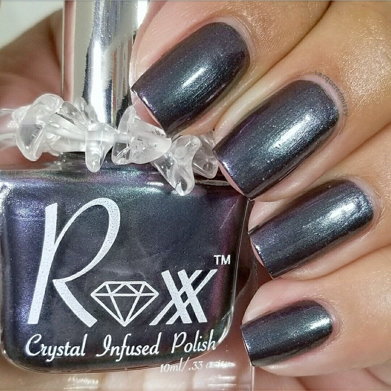 Labradorite Crystal Infused Nail Polish  Discover Yourself. image 0