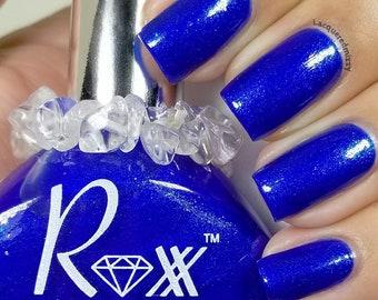 Lapiz Polish - Communication - Speak Your Truth - Crystal Infused Nail Polish - Throat Chakra - Non-Toxic - Crystal Energy
