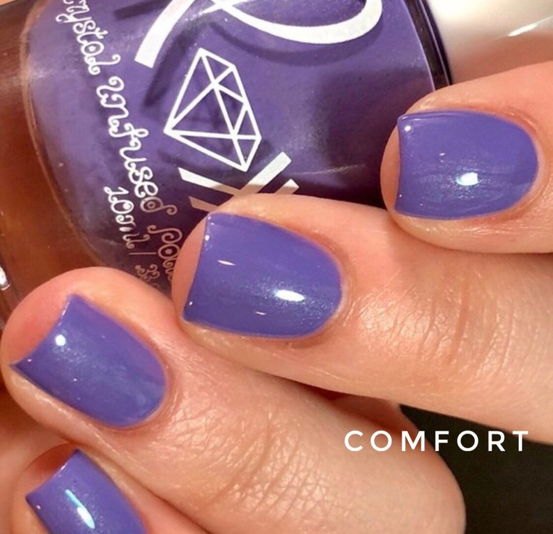 Roxx for Kids - Amethyst - Comfort - Crystal Infused Nail Polish -  Non-Toxic - Vegan - Non Toxic - Crystal Energy