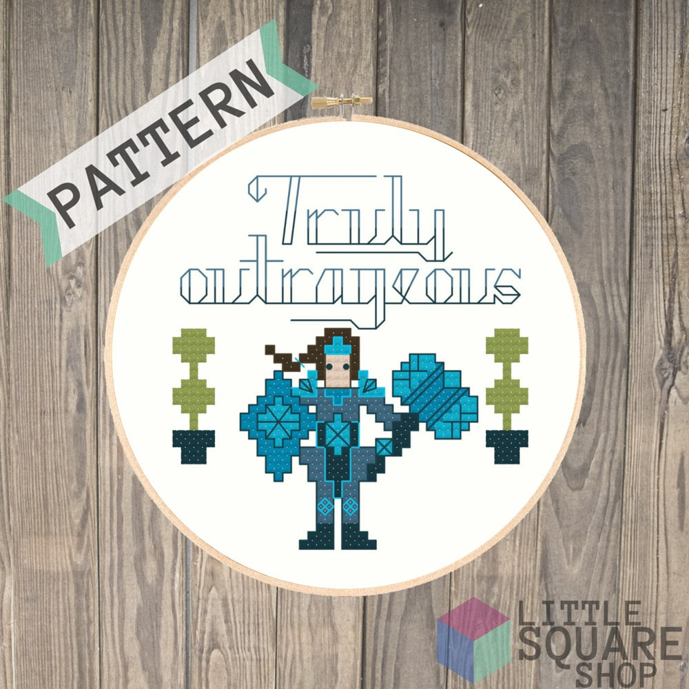 Taric is Truly Outrageous League of Legends Cross Stitch ...