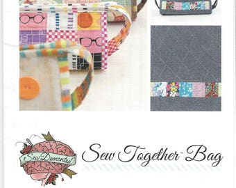 Sew Together Bag Pattern by Sew Demented *Domestic 1st Class Shipping Only 1.25!*