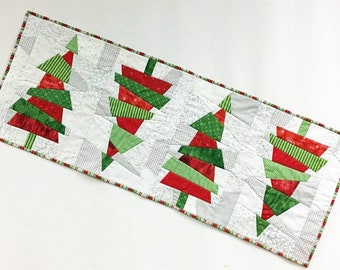 Crazy Christmas Trees Quilt Pattern by Cut Loose Press *Domestic 1st Class Shipping Only 2.00!*