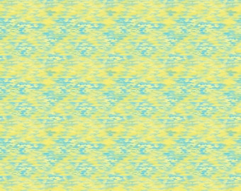 3 Wishes Fabric Mystic Ocean Yellow Reflection– 14609-Yellow *
