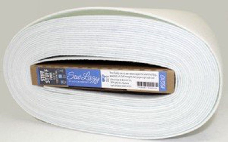 New Version 5 yards-Sew Lazy Stiff Stuff Sew-In Interfacing