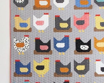 Chickens Quilt Pattern by Cluck Cluck Sew *Tracked Shipping Only 2.25*
