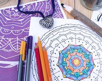 Mandala Coloring Book, Vol. 1