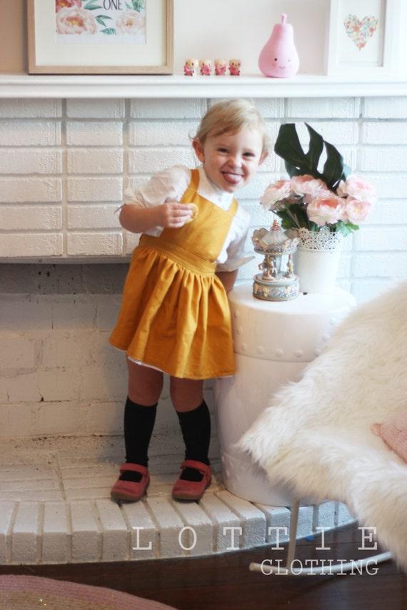 7bcb40ae5b7b Paige pinafore toddler pinafore girls dress pinafore | Etsy