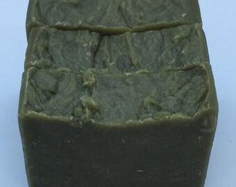 All Natural Goat Milk Lemongrass & Lavender Essential Oil Soap