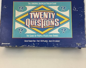 Vintage 1988 Board game Tweenty Questions complete original