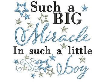 baby boy quote embroidery machine design file newborn blanket onsie vest bib etc 3 sizes all popular formats instant download