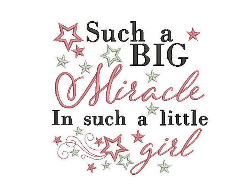 baby girl quote embroidery machine design file newborn brother image 0
